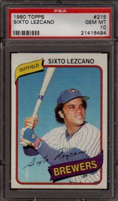 1980 Topps Sixto Lezcano Card