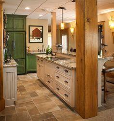 Rustic Log Home rustic wine cellar Basement Kitchen, Basement Ideas, Amish Country, Bar Areas, Wine Storage, Cool Bars, Custom Cabinets, Beautiful Space, Wine Cellar
