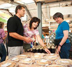 Saskatoon Farmers' Market offers lots of local flavors.