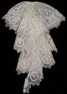 Beautiful Victorian Lace Jabot. Etsy, $45.00