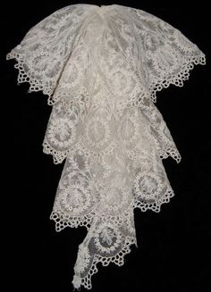 Beautiful Victorian Lace Jabot. Etsy, $45.00 SOLD!