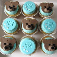 Babyshower cupcakes www.hausofcake.com