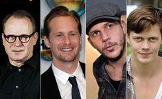 The Skarsgard family Gustaf Skarsgard, Bill Skarsgard, Alexander Skarsgard, Swedish Men, Skarsgard Family, Good Genes, Hooray For Hollywood, True Blood, Celebs