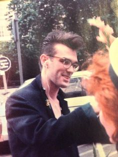 """Morrissey (the tongue thing just kills me- """"motor overflow"""" in neuro world)"""
