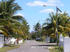 New Solar LED Street Lights for a Caribbean Community