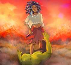 NIOBE: She is life - a new comic featuring a butt-kicking young heroine, by Amandla Stenberg