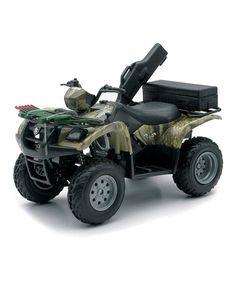 Love this Suzuki Vinson Hunting ATV Set by New-Ray Toys on #zulily! #zulilyfinds