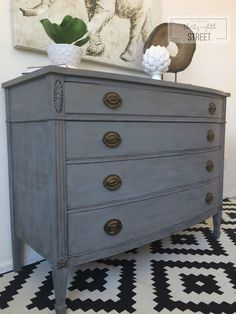 refinishing furniture Thirty Eighth Streets tutorial, tips and tricks to get an easy DIY Restoration Hardware look. A step by step guide that walks you through how to dry brush furniture and create your own Restoration Hardware knock off!