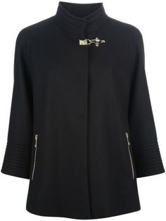 Fay Funnel Neck Jacket