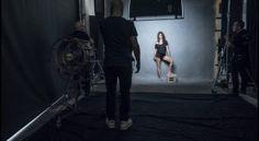 Penelope Cruz - Backstage Calendrier Pirelli 2017 par Peter Lindberg