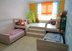 10 Efficient Space Saving In Small Kids' Room - Top Inspirations