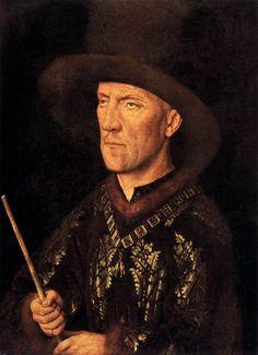 Portrait of Baudouin de Lannoy, 1435 - Jan van Eyck (Flemish, Jan Van Eyck, Renaissance Portraits, Renaissance Artists, Renaissance Paintings, Renaissance Men, Robert Campin, Ghent Altarpiece, Late Middle Ages, Chef D Oeuvre