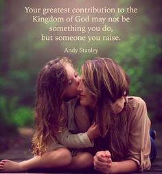 Your greatest contribution ...