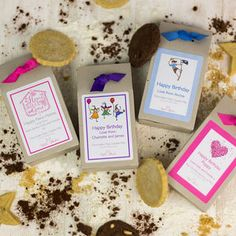 Personalised Cookie Mix Gift Boxes