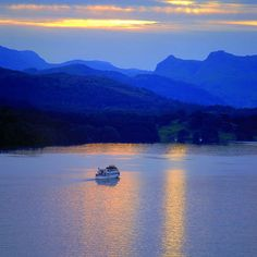 Lake Windermere - where I grew up. A place to take my kids one day.