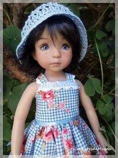 Doll outfit Little Darling Diana Effner by LesCouturesdeMagda