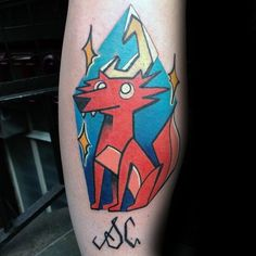 60 Coyote Tattoos For Men