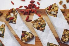 Raw Superfood Granola Bars // A Million Miles