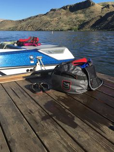 Reminiscing the sunny lake days, not to mention all the towels and equipment that didn't get wet thanks to the Smuggler Duffel Bag.