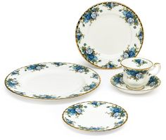 Royal Albert Moonlight Rose 5-Piece Place Setting, Service for 1 *** Trust me, this is great! Click the image. : Dining Entertaining