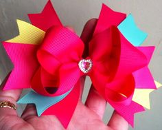 twisted boutique bow x
