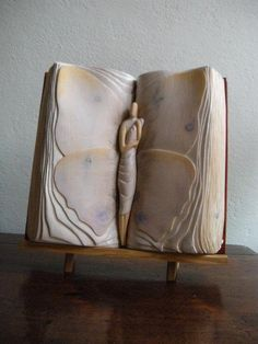 Characters Come Alive in Elaborately Carved Book Sculptures - My Modern Metropolis