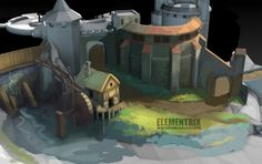 New Approach to Handpainted Environments - Page 2 - Polycount Forum