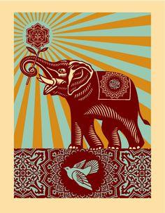 OBEY : elephant