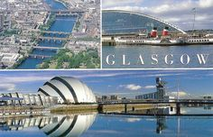 postcards of glasgow - Google Search