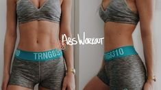 HOW TO GET ABS: AT HOME AB WORKOUT FOR FLAT STOMACH