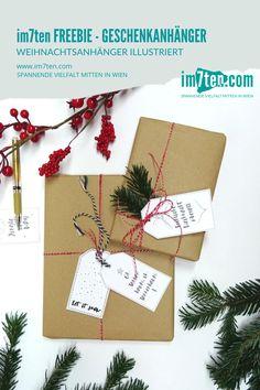 Weihnachten: Zeit für Geschenke, Goodies und Freebies! Wir haben in der Wichtelwerkstatt eine kostenlose Druckvorlage für Geschenkanhänger gefunden. Für Euch, treue im7ten-Fans! Einfach ausdrucken, ausschneiden und wer mag auch noch bunt gestalten. Deiner Fantasie sind keine Grenzen gesetzt. Viel Spaß damit! * * * #im7ten #neubau #weihnachten #geschenkanhänger #geschenke #überraschung #christmas #presents #christkind #westbahnstrasse #kaiserstrasse #neubaugasse Freebies, Bunt, Gift Wrapping, Gifts, Free Printable, Loyalty, Cutting Practice, New Construction, Sustainability