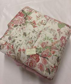 Trapunta Invernale Matrimoniale 270x270 FAZZINI a fiori rosa, floreale