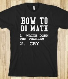 Supermarket: How To Do Math Shirt