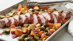 perfect dinners cleanup nights flavor option sheet these times loads fast easy prep busy with With fast prep times easy cleanup and loads of flavor these sheet pan dinners are the perfect optYou can find Sheet pan dinner recipes and more on our website Pork Recipes, Cooking Recipes, Pan Cooking, Jamaican Recipes, Family Recipes, Martha Stewart, Sunday Suppers, Weeknight Meals, Have Time