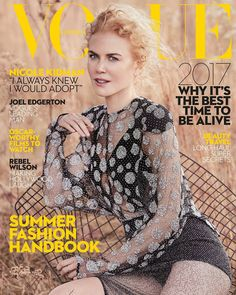Nicole Kidman Stuns in Louis Vuitton for Vogue Australia January 2017 by Will Davidson
