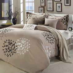 Chic Home 8-Piece Cheila Taupe Comforter Set - Beyond the Rack