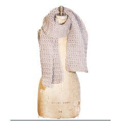 Blanket Scarf - Oat - Indego Africa