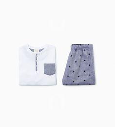Afbeelding 1 van Tweedelige pyjama met sterren van Zara