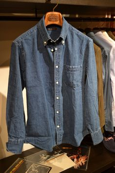 b8c177a245902 denim shirt    Denim Shirts, Double Denim, Raw Denim, Dean Winchester,