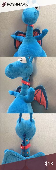 """""""Stuffy"""" the dragon from Doc McStuffins Fun talking Stuffy! Very good condition! Disney Other"""