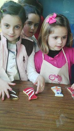 Decoración de galletas con forma de corbatas para el día del padre