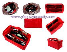 Bwahaha, the name of this purse organizer cracks. me. up.