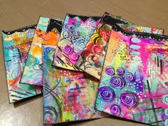 Diane's Mixed Media Art: Diane's Tag Tutorial