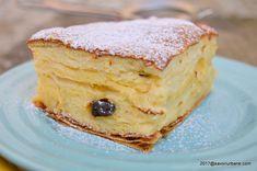 Placinta cu iaurt reteta simpla si rapida   Savori Urbane Romanian Food, Romanian Recipes, Something Sweet, Cheesecake, Baking, Breakfast, Ethnic Recipes, Cakes, Drink