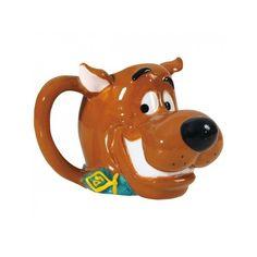 Scooby-Doo Head 11 Ounce Mug (120 SEK) ❤ liked on Polyvore featuring home, kitchen & dining, drinkware, cartoon mug, coffee mugs and cartoon coffee mug