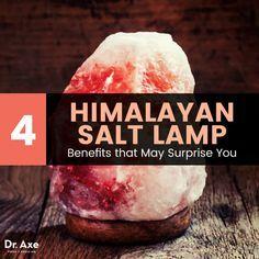 Himalayan salt lamp - Dr. Axe http://www.draxe.com #health #holistic #natural