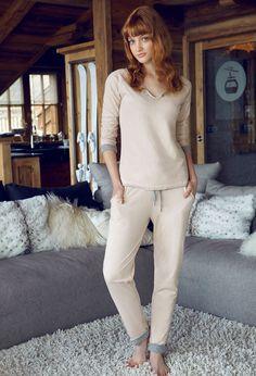 Penye Mood 7817 Bayan Pijama Takım | Mark-ha.com