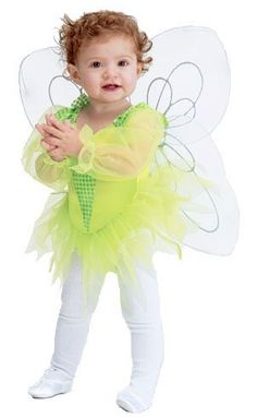 Baby Tiny Tinker Bell Costume - Small Toddler . $33.82. .x{color:#83C22D;margin:0px;font-size:12px}.y{color:#A56EBA}BABY TINY TINKER BELL COSTUMEPixie or Fairy Costumes(Item #DISM113-ST)Size: Small ToddlerIncludesbodysuit wings   Halloween Costumes for Babies - This adorable Baby Tinkerbell Costume will have you believing in fairies all over again! Baby Tinkerbell Costume includes bodysuit and wings. Tinkerbell is a famous character for the Disney Corporation, sometimes spreadi...