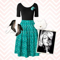 Can't get enough of cats? Then this retro look has written your name all over it!