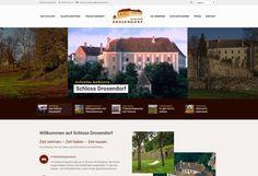 Webdesign für Schloß Drosendorf. Web Design, Places To See, Desktop Screenshot, Web Design Projects, Design Web, Website Designs, Site Design